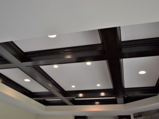 Coffered Tray Ceiling