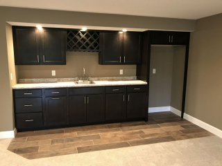Wet Bar in Lower Level