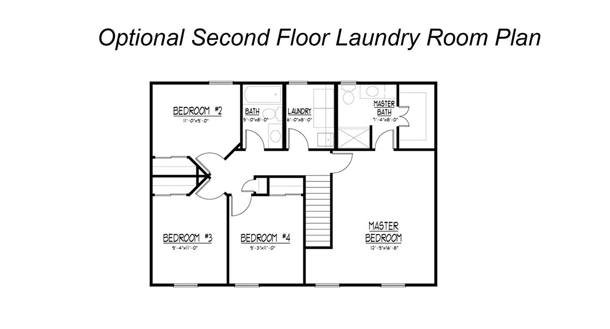 Stone Optional Second Floor Laundry