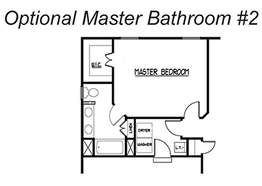 The Waters - Optional Master Bathroom 2