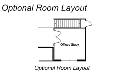 The Waters - Optional room layout